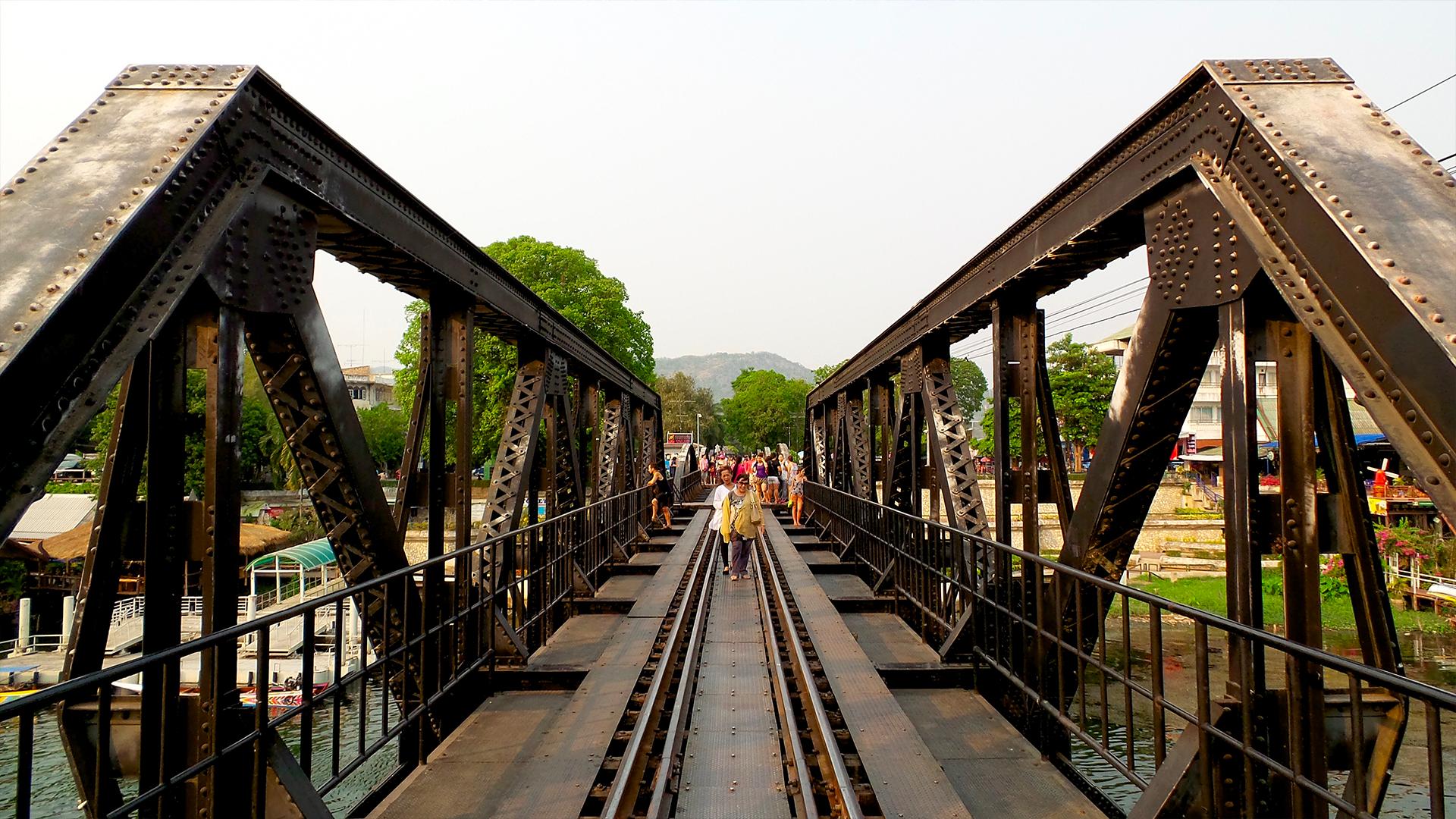 Ponte della morte - Kanchanaburi