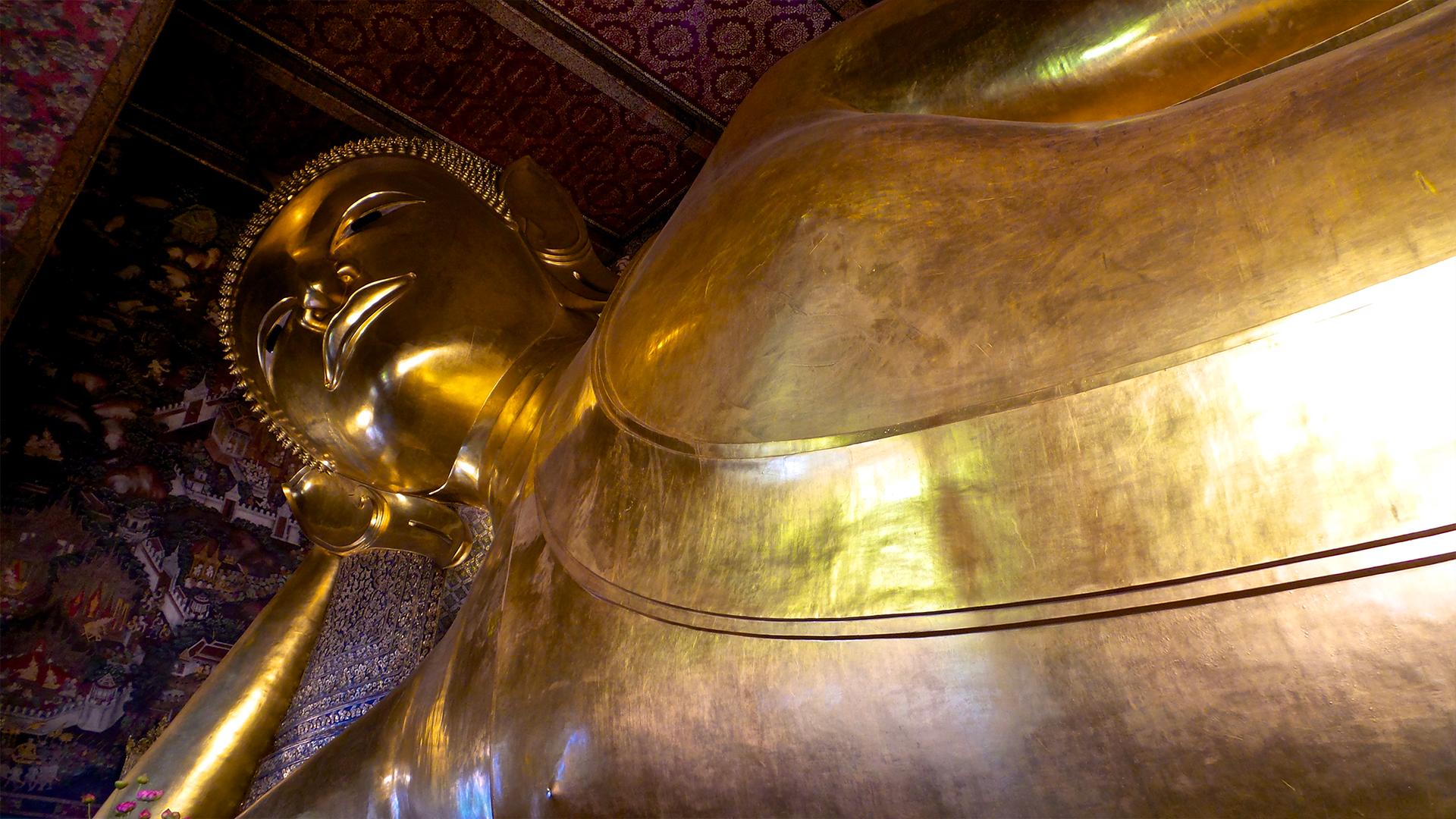 Buddha sdraiato a Bangkok