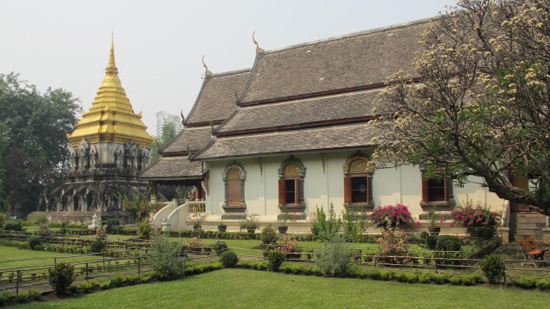 Nord della Thailandia: Monastero del Buddha Leone